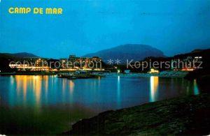 AK / Ansichtskarte Camp de Mar bei Nacht Kat. Andratx Mallorca