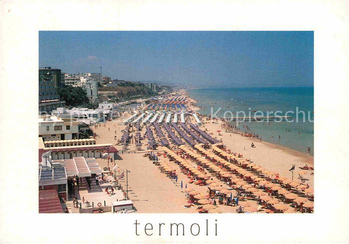 AK / Ansichtskarte Termoli Spiaggia di ponente Kat. Campobasso