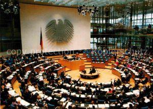 AK / Ansichtskarte Politik Plenarsaal Deutscher Bundestag Bonn am Rhein   Kat. Politik