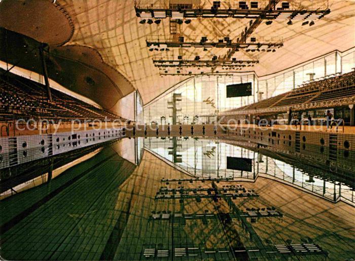 AK / Ansichtskarte Olympia Muenchen Schwimmstadion  Kat. Sport