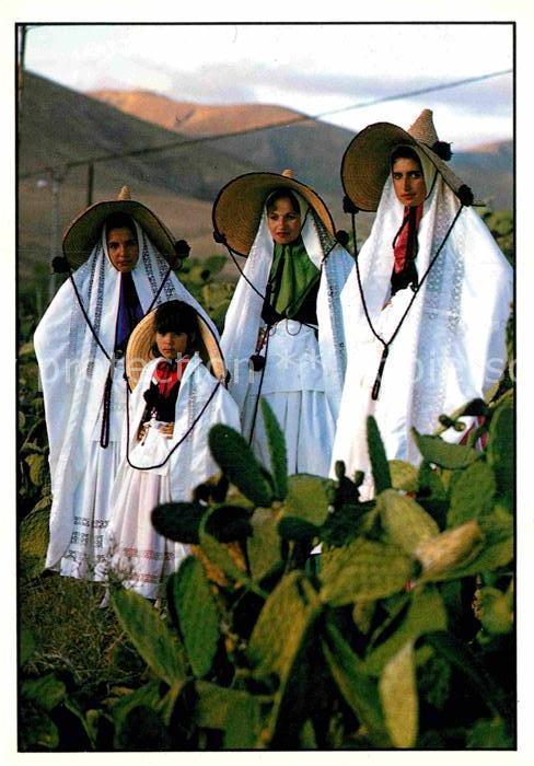 AK / Ansichtskarte Trachten Spanien Islas Canarias Fuerteventura