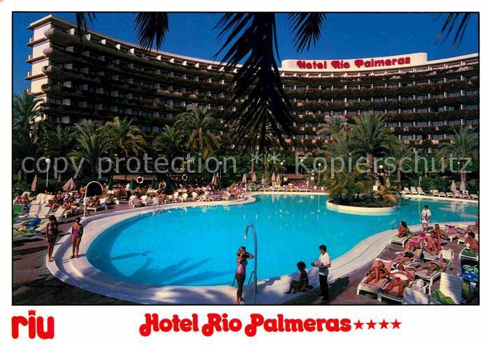 AK / Ansichtskarte Playa del Ingles Gran Canaria Hotel Rio Palmeras Kat. San Bartolome de Tirajana