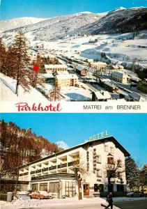 AK / Ansichtskarte Matrei Brenner Parkhotel  Kat. Matrei am Brenner
