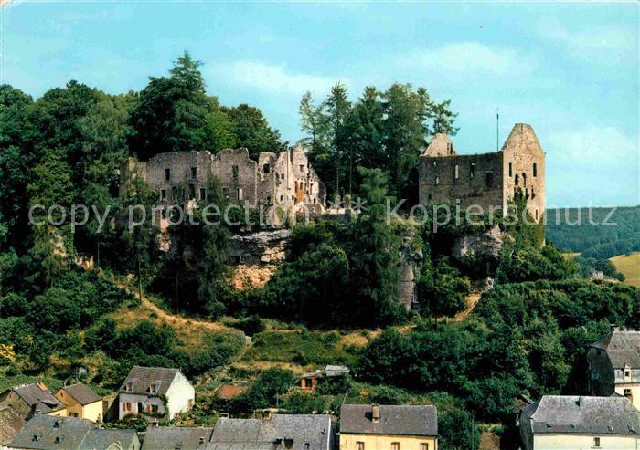 AK / Ansichtskarte Larochette Luxembourg Chateau feodal  Kat. Luxemburg