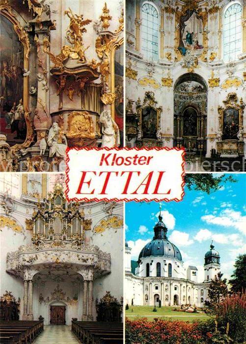 AK / Ansichtskarte Ettal Kloster Ettal Details Kat. Ettal
