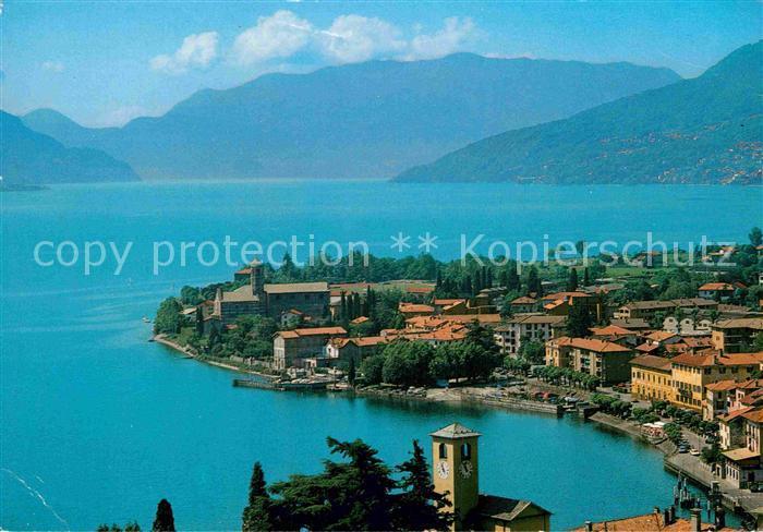 AK / Ansichtskarte Gravedona Como Panorama Lago di Como Kat. Como