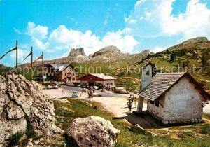 AK / Ansichtskarte Dolomiti Passo Falzarego Averau Kat. Italien