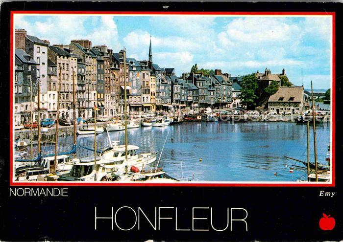 AK / Ansichtskarte Honfleur Hafen Sainte Catherine Kat. Honfleur