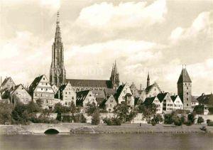 AK / Ansichtskarte Ulm Donau Muenster zu Ulm Kat. Ulm