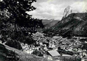 AK / Ansichtskarte Ortisei St Ulrich Panorama Val Gardena Dolomiten