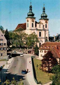 AK / Ansichtskarte Donaueschingen Partie bei der Stadtkirche Kat. Donaueschingen