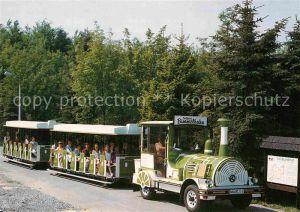 AK / Ansichtskarte Seiffen Erzgebirge Bimmelbahn Kat. Kurort Seiffen Erzgebirge
