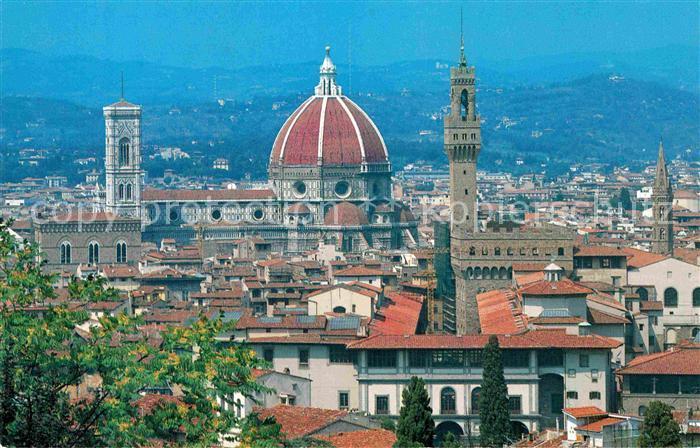 AK / Ansichtskarte Florenz Michelangelo Blick vom Piazzale Kat. Italien
