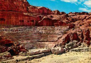AK / Ansichtskarte Petra Jordanien Amphitheatre