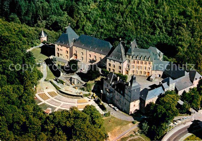 AK / Ansichtskarte Wiltz Luxembourg Chateau Theatre Fliegeraufnahme Kat. Luxemburg