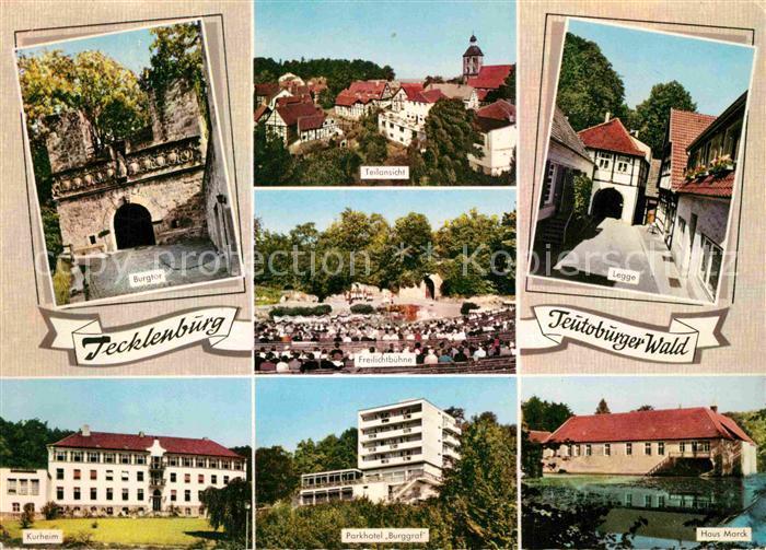 AK / Ansichtskarte Tecklenburg Parkhotel Burggraf Legge Haus Marck Kat. Tecklenburg