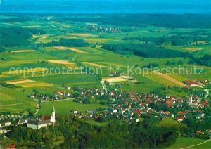 AK / Ansichtskarte Andechs Fliegeraufnahme Kloster mit Erling Ammersee Kat. Andechs