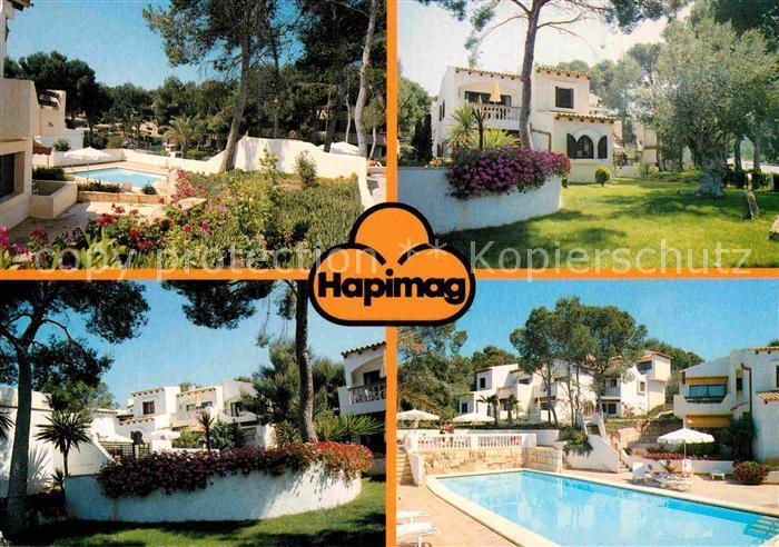 AK Ansichtskarte Paguera Mallorca Islas Baleares Hapimag Ferienanlage Hotel Bungalows Swimming Pool Kat Calvia