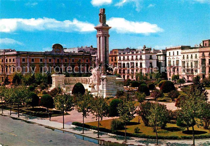 AK / Ansichtskarte Cadiz Andalucia Monumento a las Cortes de 1812 Kat. Cadiz