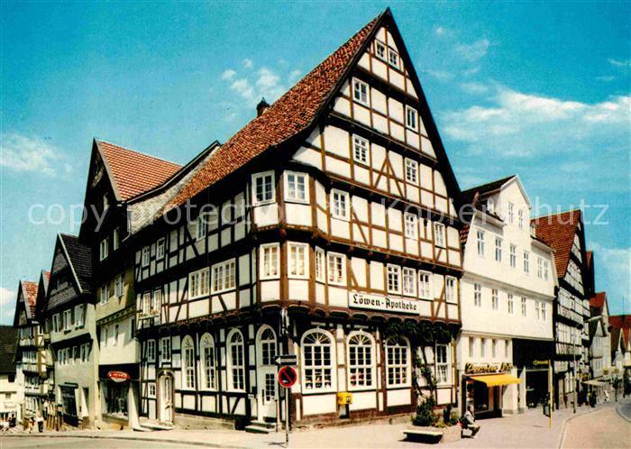 AK / Ansichtskarte Bad Wildungen Fachwerkhaus Brunnenstrasse  Kat. Bad Wildungen
