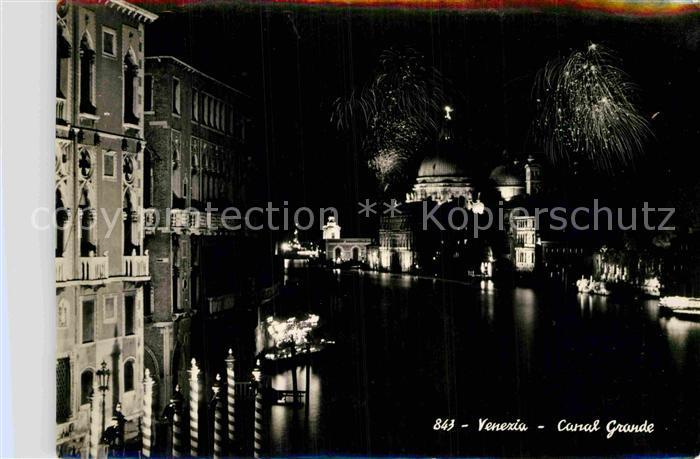 AK / Ansichtskarte Venezia Venedig Canal Grande Kat.