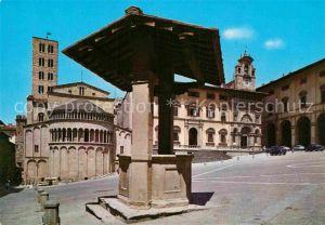 AK / Ansichtskarte Arezzo Piazza Vasari Kat. Arezzo