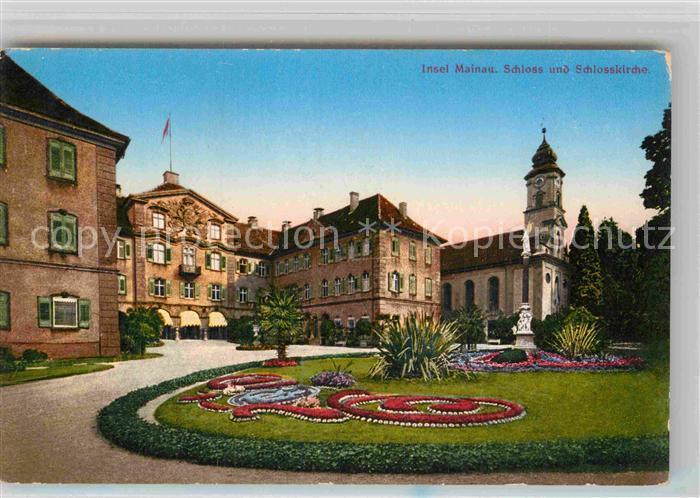 AK / Ansichtskarte Mainau Schloss Schlosskirche Kat. Konstanz