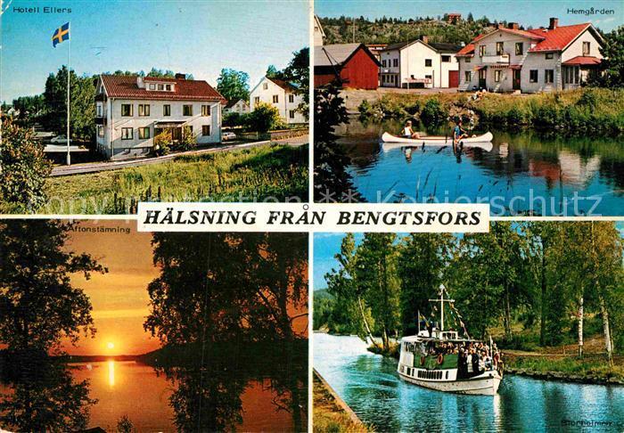 AK / Ansichtskarte Bengtsfors Hotell Ellers Soedra Vaegen Kat. Schweden
