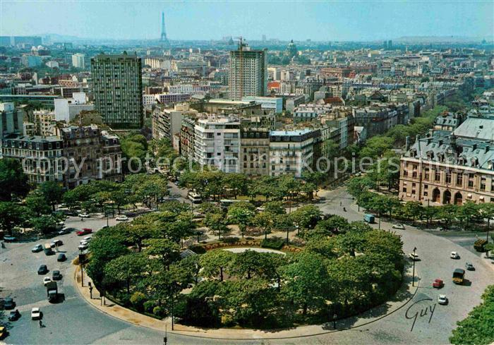 AK / Ansichtskarte Paris Place d Italie et au fond la tour Eiffel Collection Paris et ses Merveilles Kat. Paris