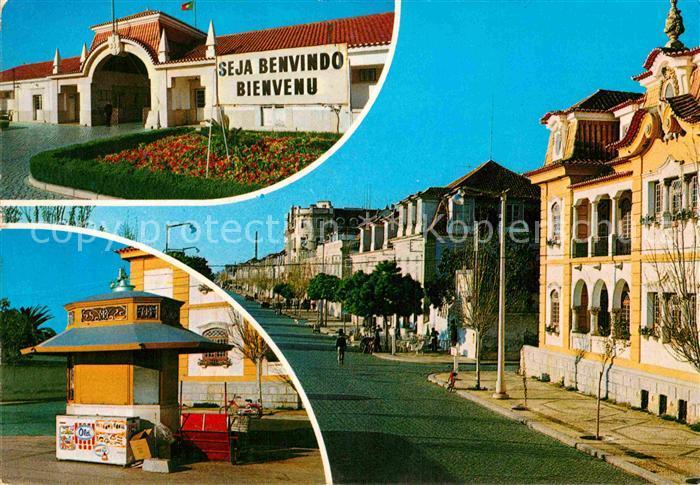 AK / Ansichtskarte Vila Real de Santo Antonio Teilansichten Kiosk Kat. Vila Real de Santo Antonio