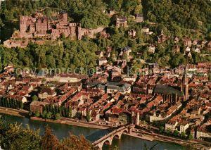 AK / Ansichtskarte Heidelberg Neckar Panorama Blick vom Heiligenberg Altstadt Schloss Kat. Heidelberg