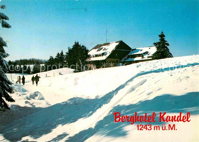 AK / Ansichtskarte Kandel Breisgau Berghotel Kandel