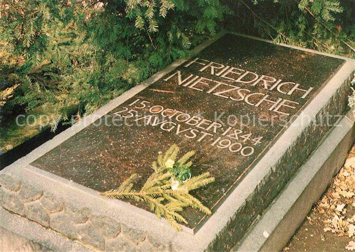 AK / Ansichtskarte Tod Grabstaette Friedrich Nietzsche Roecken  Kat. Tod