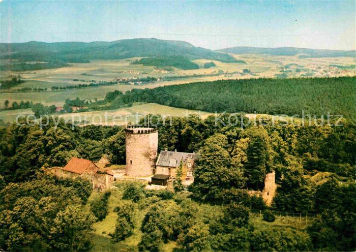 AK / Ansichtskarte Burg Ravensburg Fliegeraufnahme im Teutoburger Wald Kat. Borgholzhausen