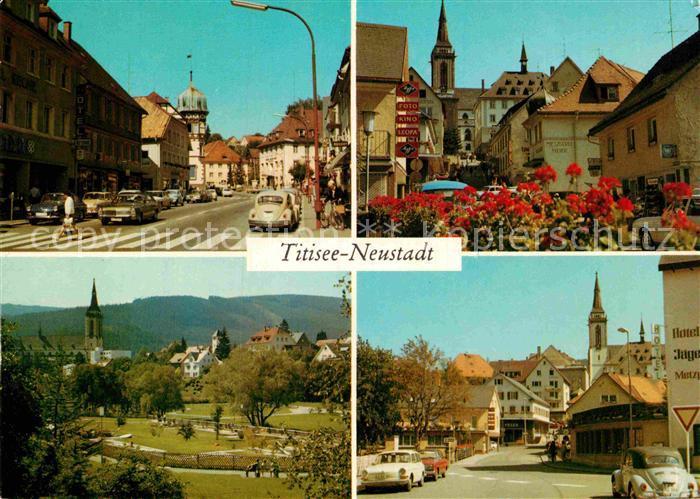 Ak Ansichtskarte Titisee Neustadt Teilansichten Innenstadt Stadtpark Kurort Schwarzwald Kat Titisee Neustadt Nr Kc10742 Oldthing Ansichtskar