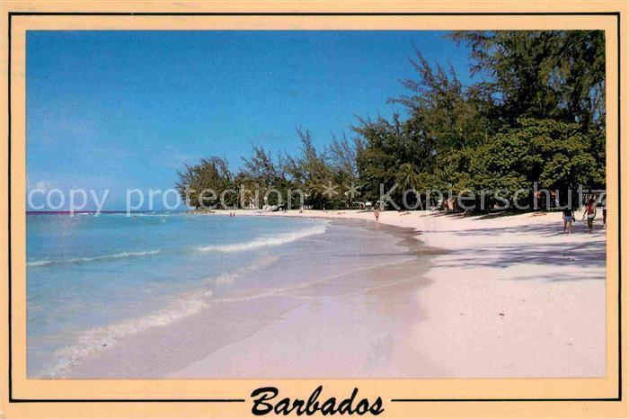 AK / Ansichtskarte Christ Church Barbados Accra Beach