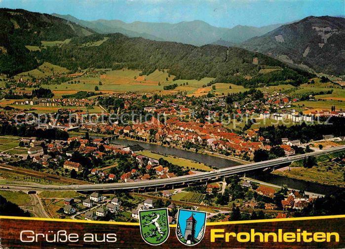 AK / Ansichtskarte Frohnleiten Alpenpanorama Fliegeraufnahme Kat. Frohnleiten