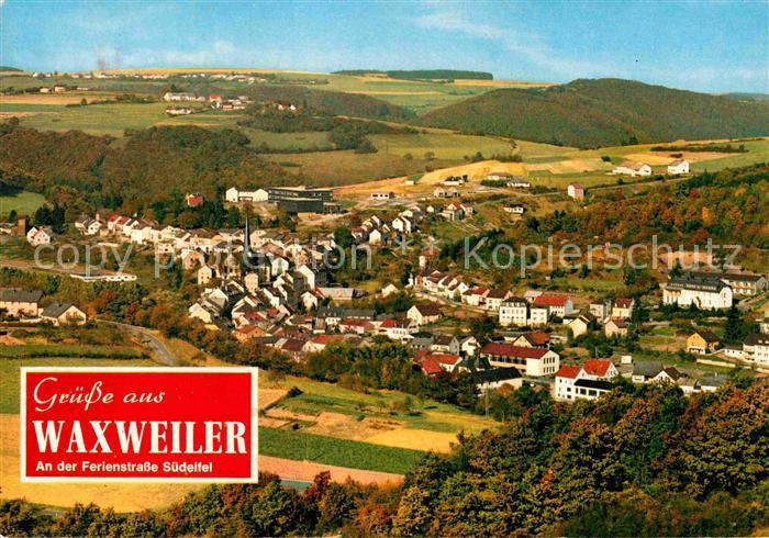 AK / Ansichtskarte Waxweiler Panorama Erholungsort an der Ferienstrasse Suedeifel Kat. Waxweiler