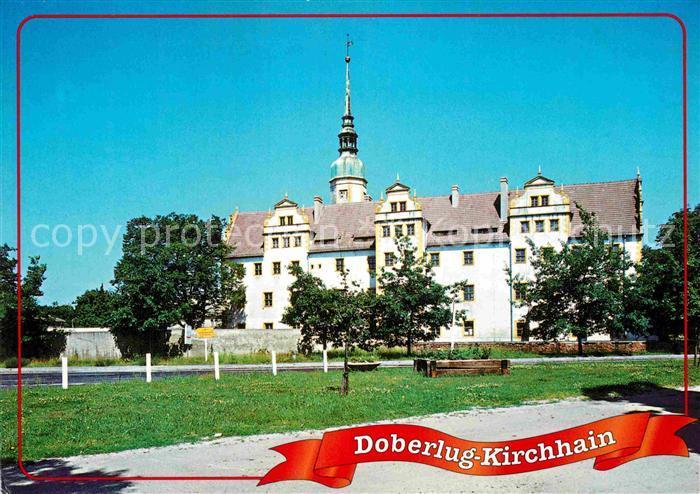AK / Ansichtskarte Kirchhain Doberlug Kirchhain Schloss Kat. Doberlug Kirchhain