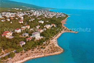AK / Ansichtskarte Crikvenica Kroatien Fliegeraufnahme Kat. Kroatien
