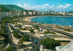 AK / Ansichtskarte Rio de Janeiro Brasil turistico Praia do Botafogo Avenida Beira Mar Kat. Rio de Janeiro