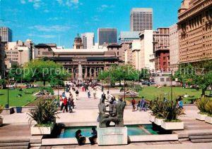 AK / Ansichtskarte Johannesburg Gauteng Transvaal Pathway to Public Library Market Street Museum Kat. Johannesburg