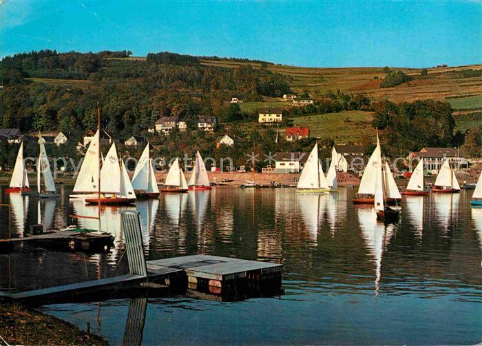 AK / Ansichtskarte Woffelsbach Segelregatta auf dem Rursee Kat. Simmerath