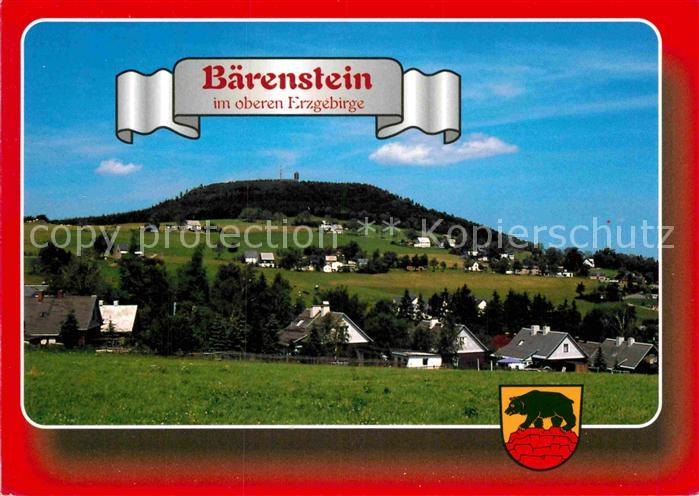 AK / Ansichtskarte Baerenstein Annaberg Buchholz Panorama Kat. Baerenstein