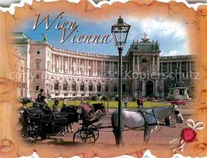 AK / Ansichtskarte Wien Schloss Fiaker Kat. Wien