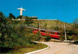 AK / Ansichtskarte Zahnradbahn Rio de Janeiro Corcovado  Kat. Bergbahn