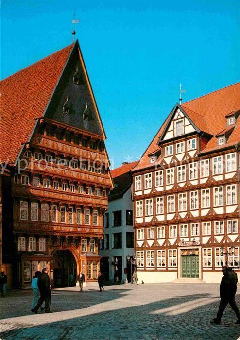 AK / Ansichtskarte Hildesheim Knochenhaueramtshaus Stadtschaenke Kat ...