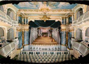 AK / Ansichtskarte Theater Schwetzingen Schlossgarten Rokoko Theater  Kat. Theater