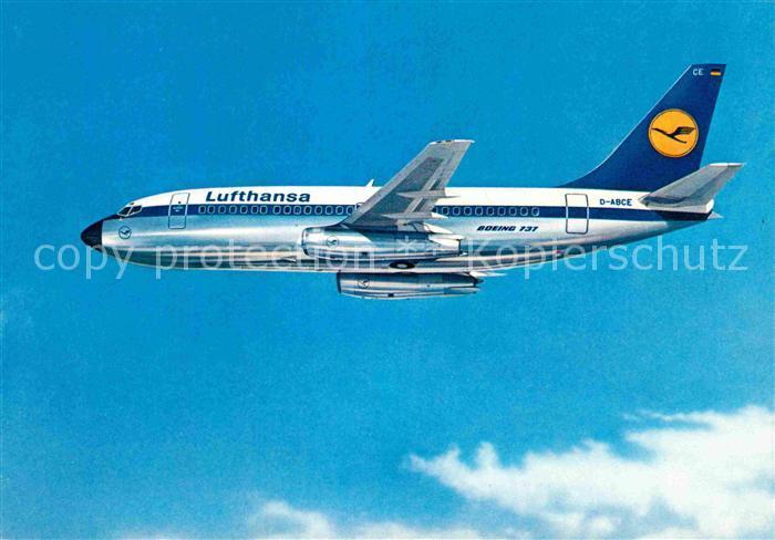 AK / Ansichtskarte Lufthansa Boeing 737 City Jet Kat. Flug