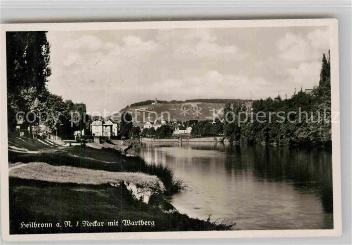 AK / Ansichtskarte Heilbronn Neckar Neckar Wartberg  Kat. Heilbronn